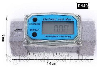 Электронный счетчик для КАС, ЖКУ, аммиачной воды, СЗР, жидких удобрений