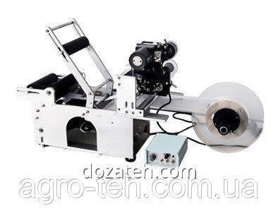 Этикетировочная машина, этикетировщик с фотосенсором и датером
