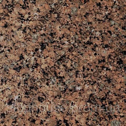 Межерический гранит  коричнево-розовый гранит Житомирского месторождения 1005