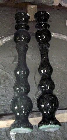 Балясины гранитные Лабрадорит 01