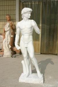 Мраморная скульптура, из натурального камня