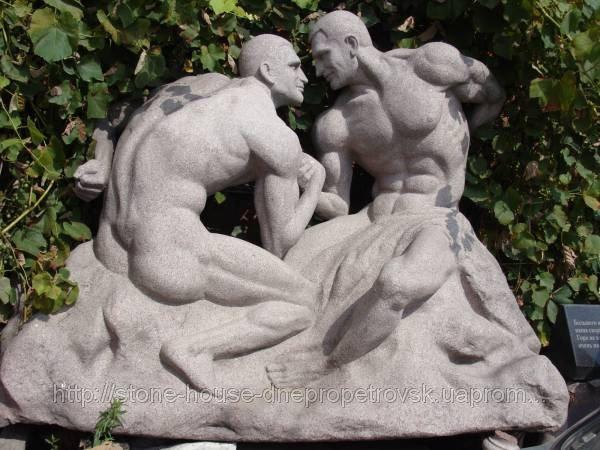 Скульптура из гранита 786