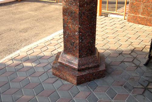 Колонны гранитные Классическая колонна