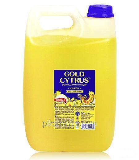 Купить Средство для мытья посуды GD Gold Cytrus 5000мл желтый лимон 1/15