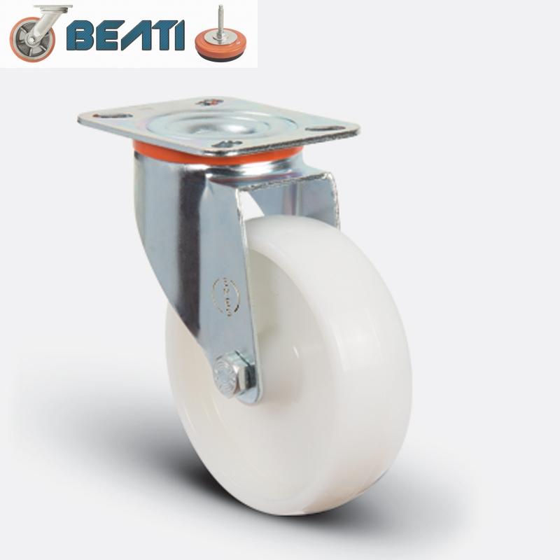 Купить Нержавеющие полиамидные поворотные колесные опоры 80мм