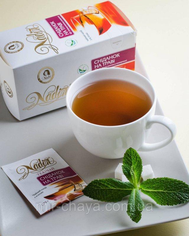 Купить Чай травяной пакетироваггый Завтрак на траве, 24шт * 1,75г.