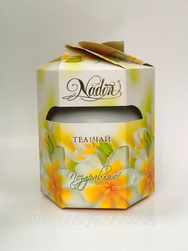 Buy Gift tea ** Vesnyana a kv_tka ** in a round can of 150 g