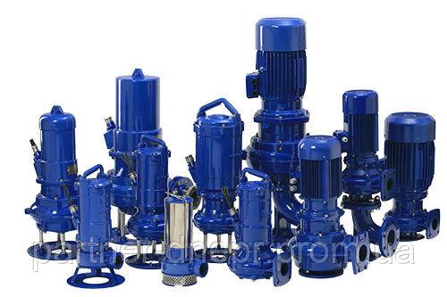 Купить Насосы погружные FZ для загрязнённых жидкостей Hydro-Vacuum