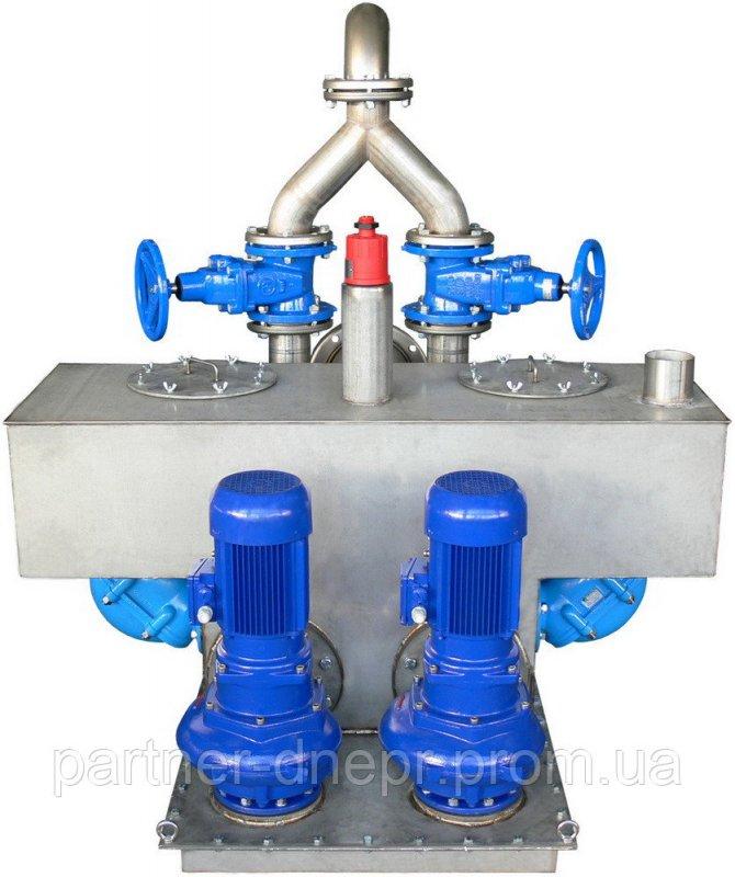 Станция перекачки сточных вод с сепарацией твердых тел типа TS