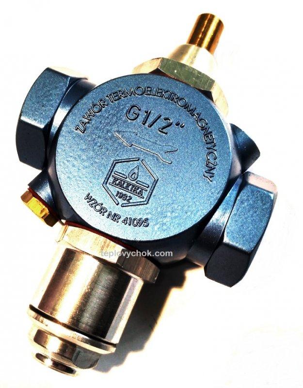 Термоэлектромагнитный клапан КАРЕ
