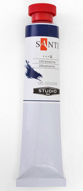 Краска маслянная Santi Studio 60мл Ультрамарин №16