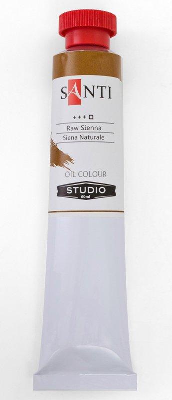 Краска маслянная Santi Studio 60мл Сиена натуральная №71