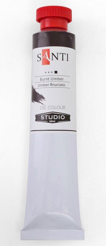 Краска маслянная Santi Studio 60мл Умбра жженная №15