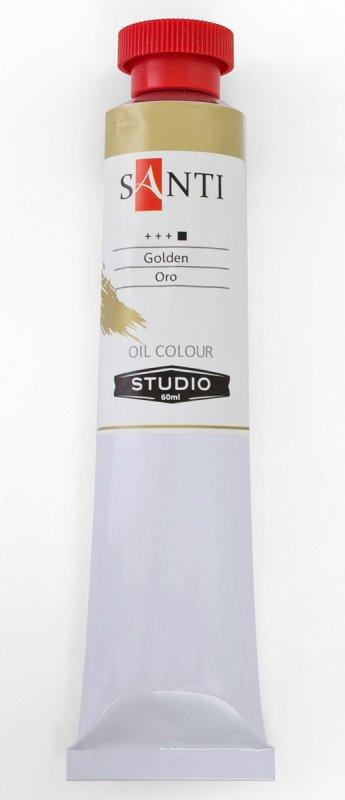 Краска маслянная Santi Studio 60мл Темное золото №88