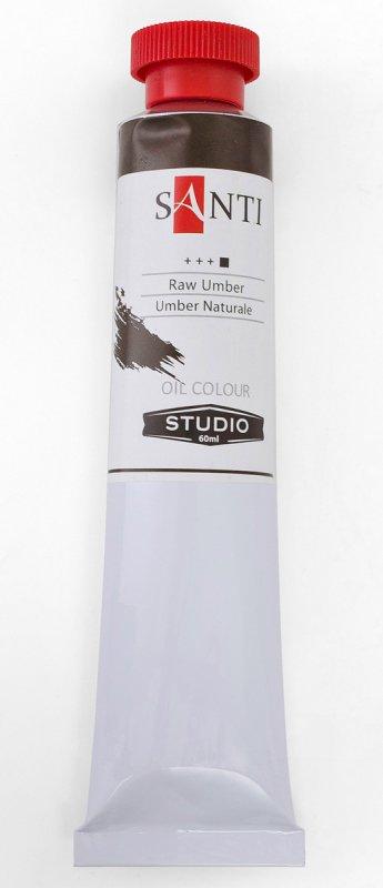 Краска маслянная Santi Studio 60мл Умбра натуральная №72