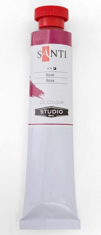 Краска маслянная Santi Studio 60мл Краплак темно розовая №130