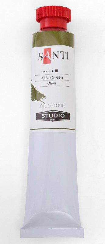 Краска маслянная Santi Studio 60мл Оливковая №70