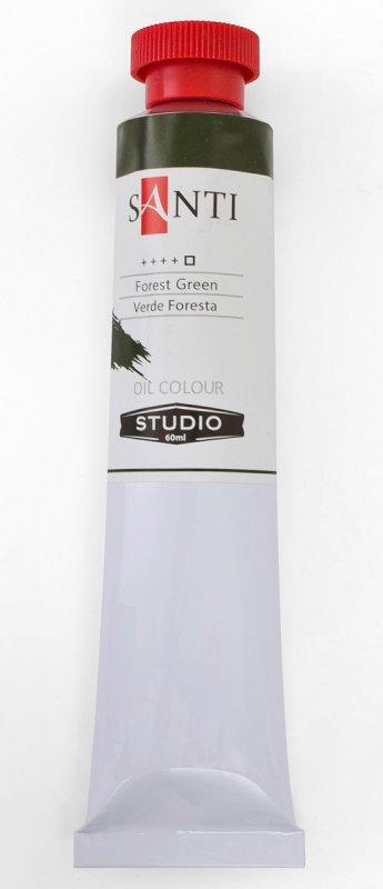 Краска маслянная Santi Studio 60мл Лесная зелень №194