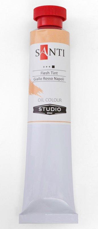Краска маслянная Santi Studio 60мл Неаполитанский желто-красный №29