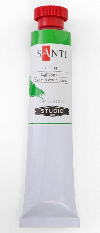Краска маслянная Santi Studio 60мл Кадмий зеленый №27