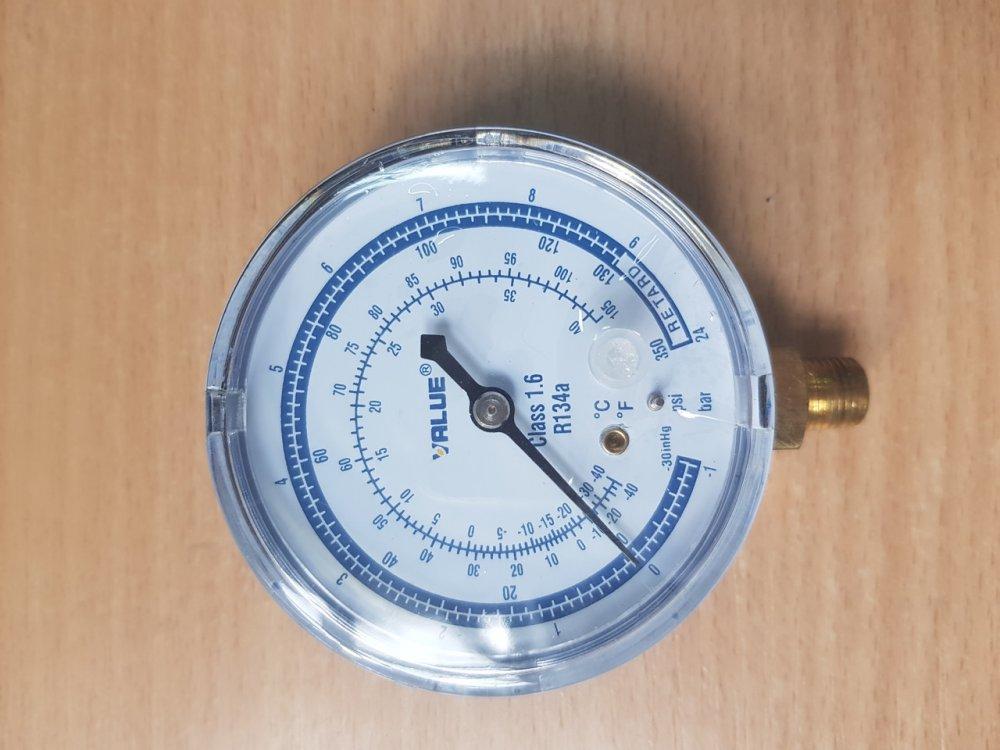 Купить Манометр Value АBL низкого давления Синий R 134 Ø 68 mm, код 581228182