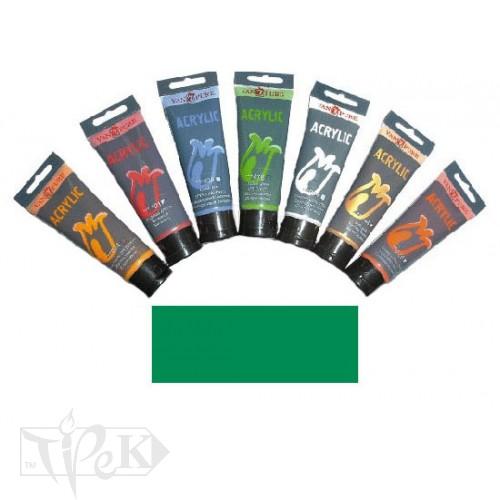 Купить Акриловая краска 75 мл 061 изумрудно-зеленая Van Pure