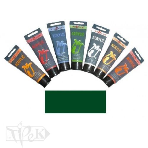 Купить Акриловая краска 75 мл 056 зеленая прусская Van Pure