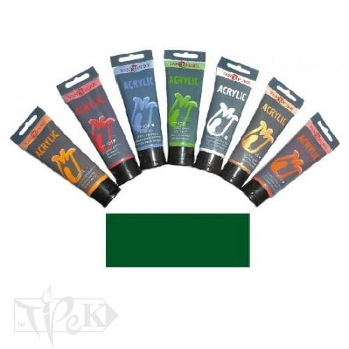 Купить Акриловая краска 75 мл 063 зеленая средняя Van Pure