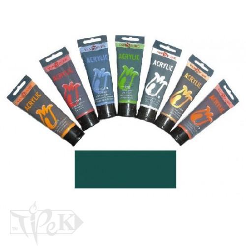 Купить Акриловая краска 75 мл 067 виридоновая зеленая Van Pure