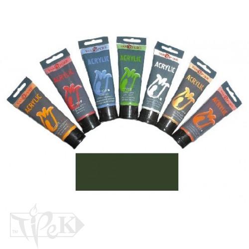 Купить Акриловая краска 75 мл 069 оливковая Van Pure