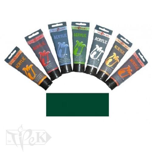 Купить Акриловая краска 75 мл 066 зеленая желчная Van Pure