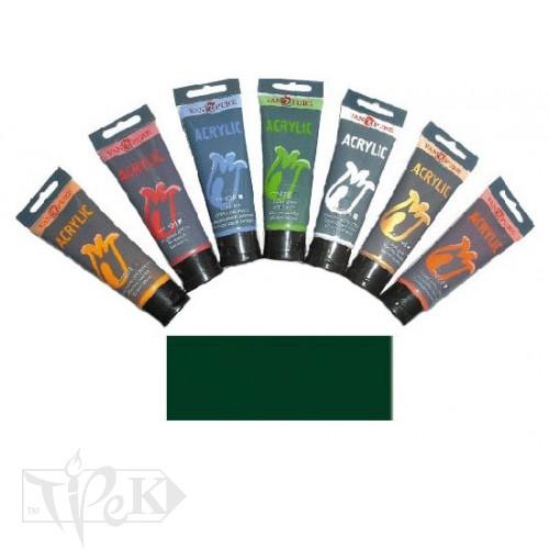 Купить Акриловая краска 75 мл 072 зеленая ФЦ Van Pure