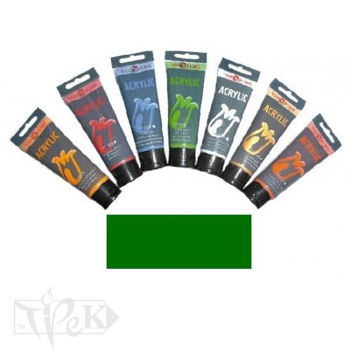 Купить Акриловая краска 75 мл 071 зеленая светлая Van Pure