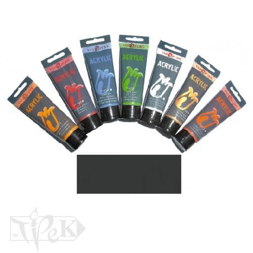 Купить Акриловая краска 75 мл 113 Марс черный Van Pure