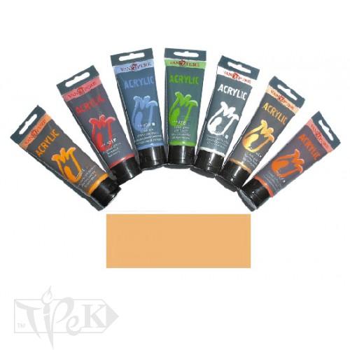 Купить Акриловая краска 75 мл 127 неаполитанская желтая Van Pure