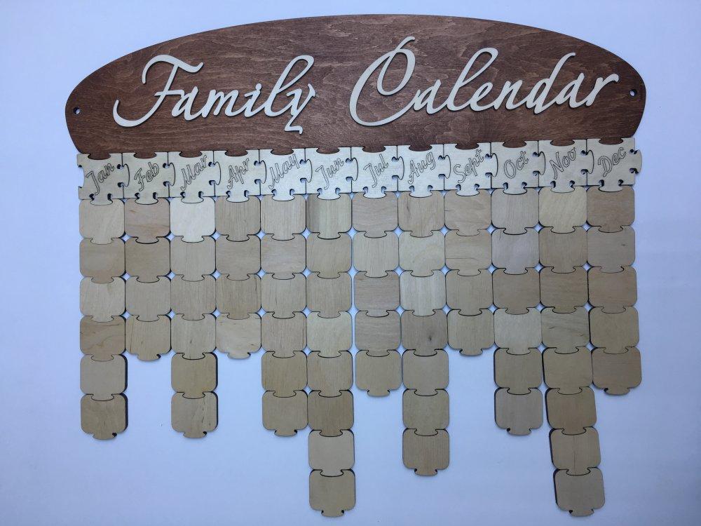 "Сімейний календар ""Family Calendar 2D"""