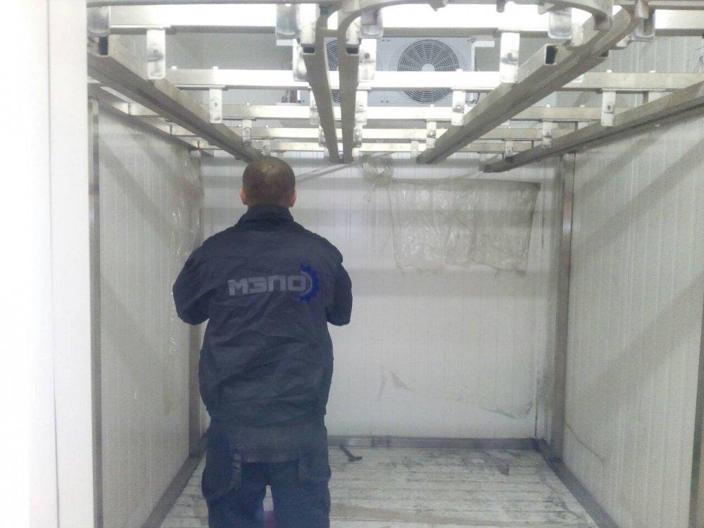 Подвесные пути  в холодильных камерах