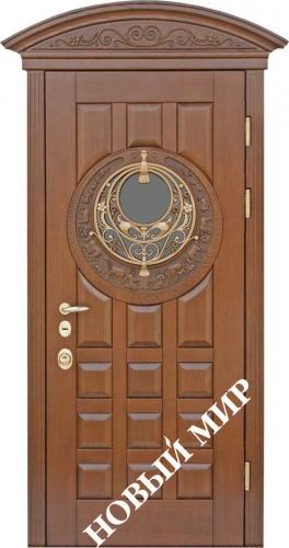 Двери входные металлические  с различными видами облицовки