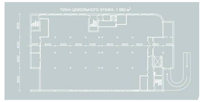 Buy I will hand over the heated warehouse with a stage of 800 sq.m. in the first floor on Kosmicheskaya St.