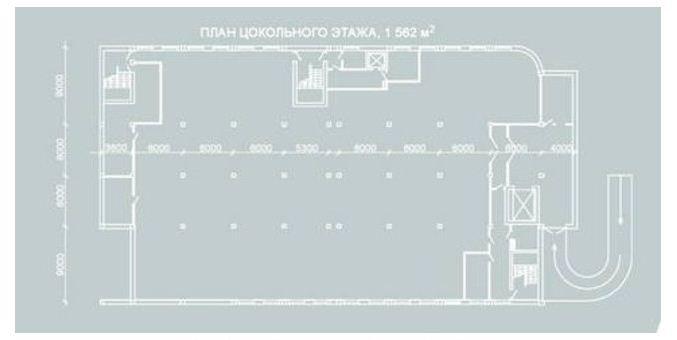 Купить Сдам отапливаемый склад с рампой 800 кв.м. в цокольном этаже по ул. Космической.