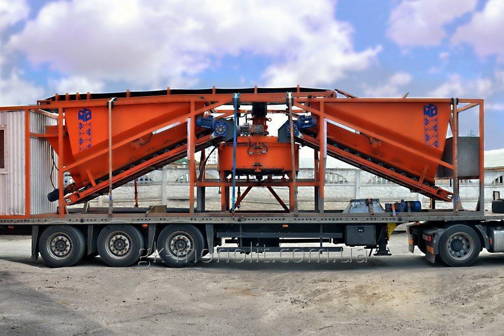 Mobile concrete MBV-15 hub