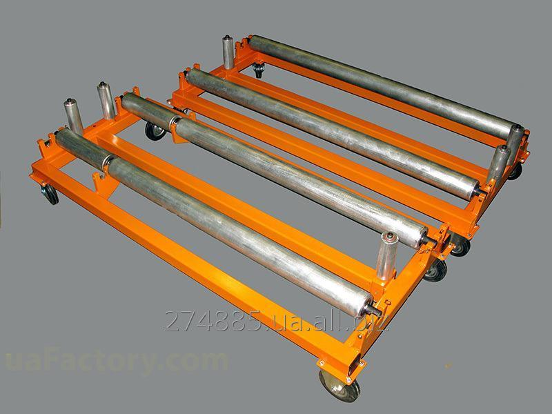 Buy Rack of storage and unwinding of rolled SURRM 1250 metal