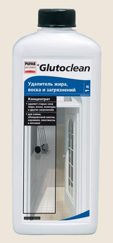 """Бытовая химия Pufas(Пуфас) """"Удалитель жира, воска и загрязнений 1,0 л"""" TM Glutoclean"""