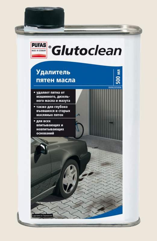 """Бытовая химия Pufas(Пуфас) """"Удалитель пятен масла 0,5 л"""" TM Glutoclean"""