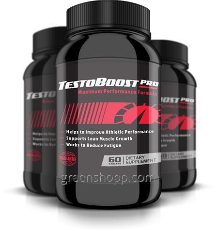 Купити TestoBoost Pro (ТестоБуст Про) - капсули для набору м'язової маси