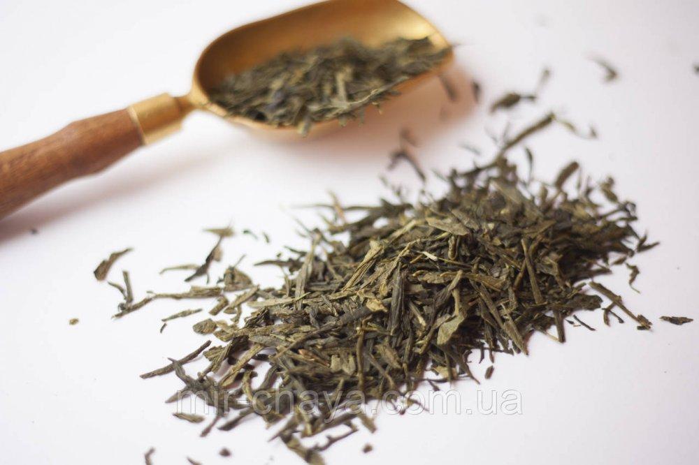 Buy Green green tea of a sench, 0,5kg.