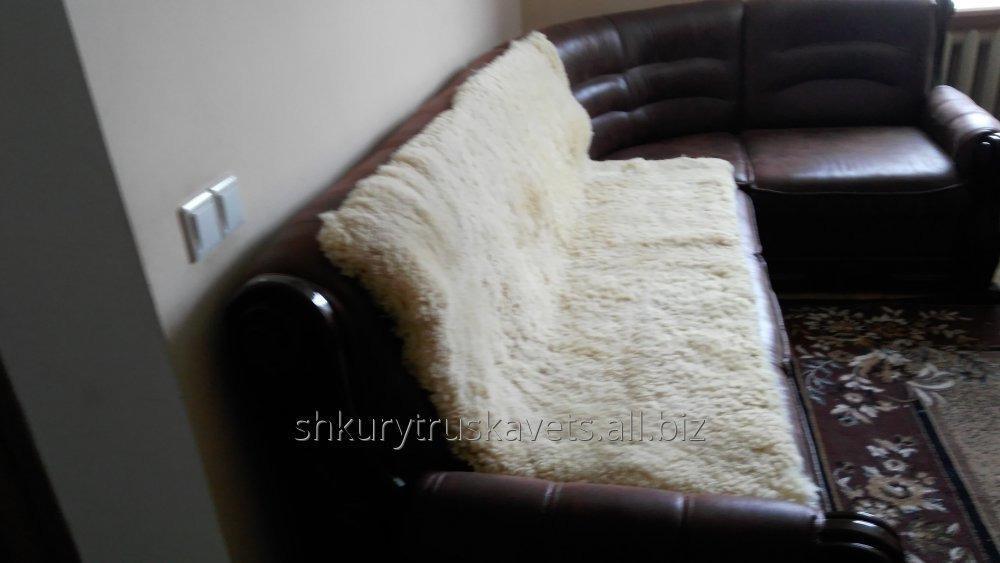 Купить Покрывало из овечьих шкур (180-100см)