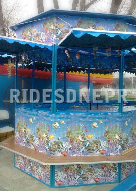 """""""Рибалочка» -  дитячий пересувний атракціон, призначений для дітей молодшого шкільного та дошкільного віку."""