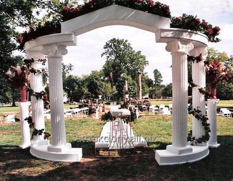 Атрибутика для оформлення весільних церемоній та фотозон
