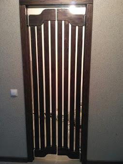 Двери ковбойские, распашные